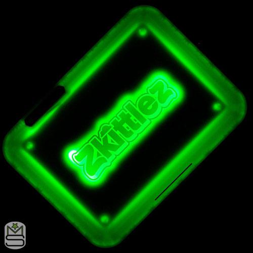 Glow Tray - Zkittlez Green
