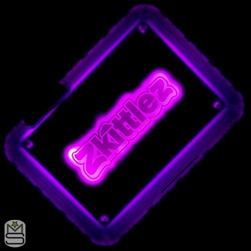 Glow Tray - Zkittlez Purple