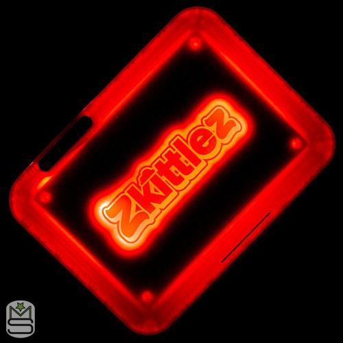 Glow Tray - Zkittlez Red