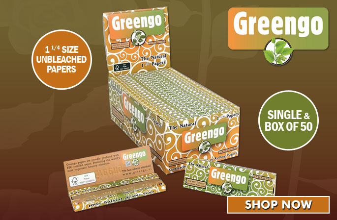 Slider - Greengo 1 1/4 Papers