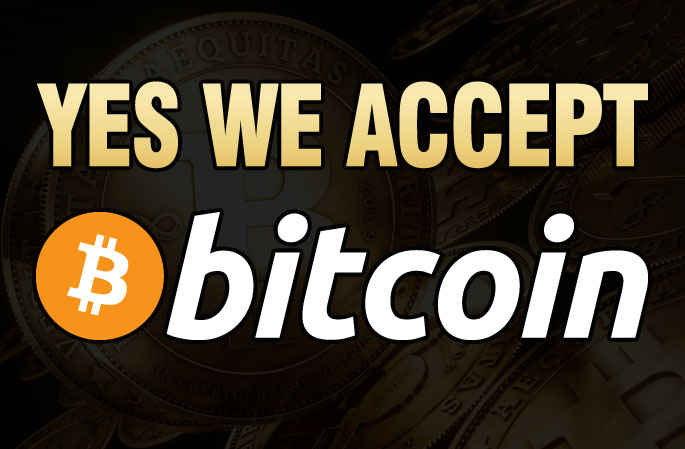 Yes We Accept Bitcoin