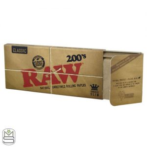 Raw 200s – King Size Rolling Papers