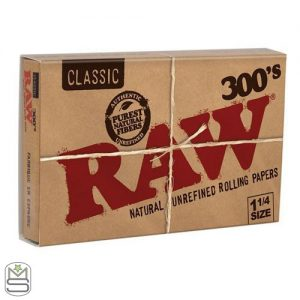 RAW 300s – 1 1/4 Rolling Papers