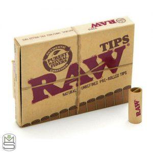 RAW Pre Roll Tips Box