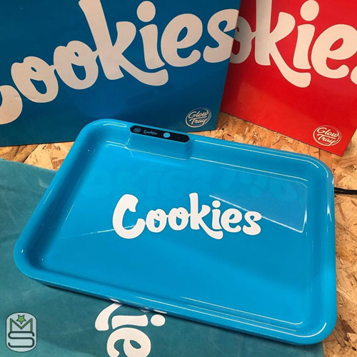 Glow Tray - Cookies Blue