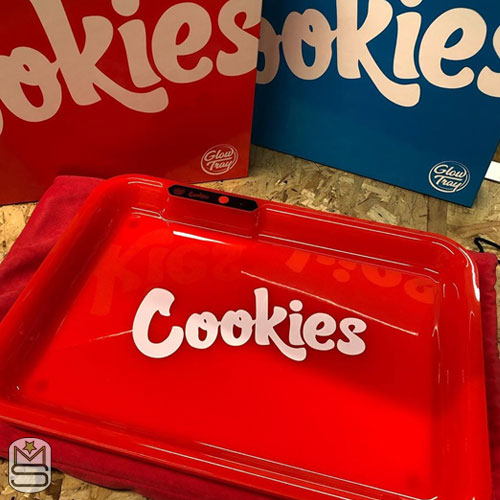 Glow Tray - Cookies Red